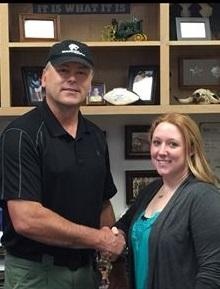 Congratulations to our newest administrative assistant Krystal Hogue